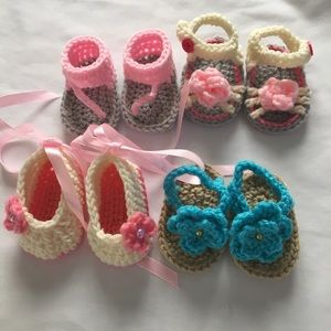 Other - Bundle of 4 pair as pictured 0-3 Month
